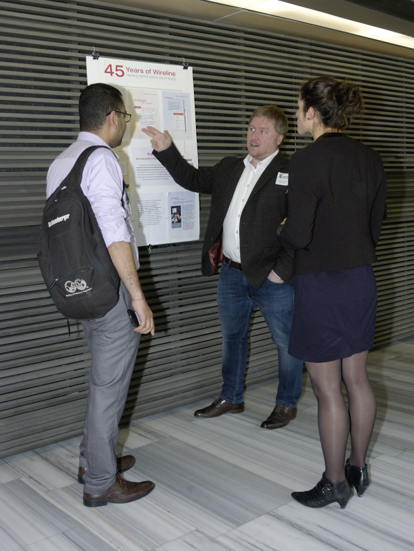 A poster presentation